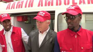 UN envoy for Somalia urges more support for country's only free ambulance service [Part 1]
