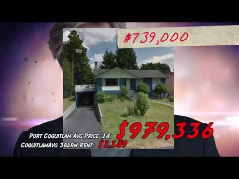 Canadian Real Estate Bubble: Port Coquitlam, BC