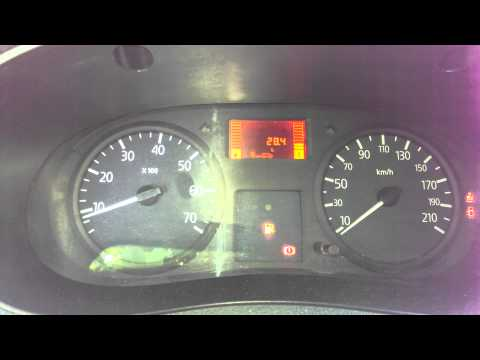 Расход топлива рено кенгу 1,5 cDi 2006 г.