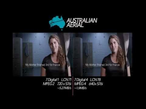 Channel 7: MPEG2/MPEG4 comparison (13.06.2015)