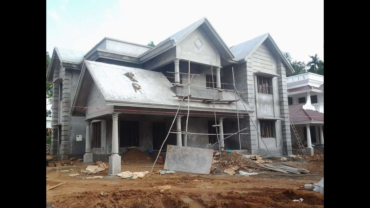 House in new villa project for sale in angamaly ernakulam New house project