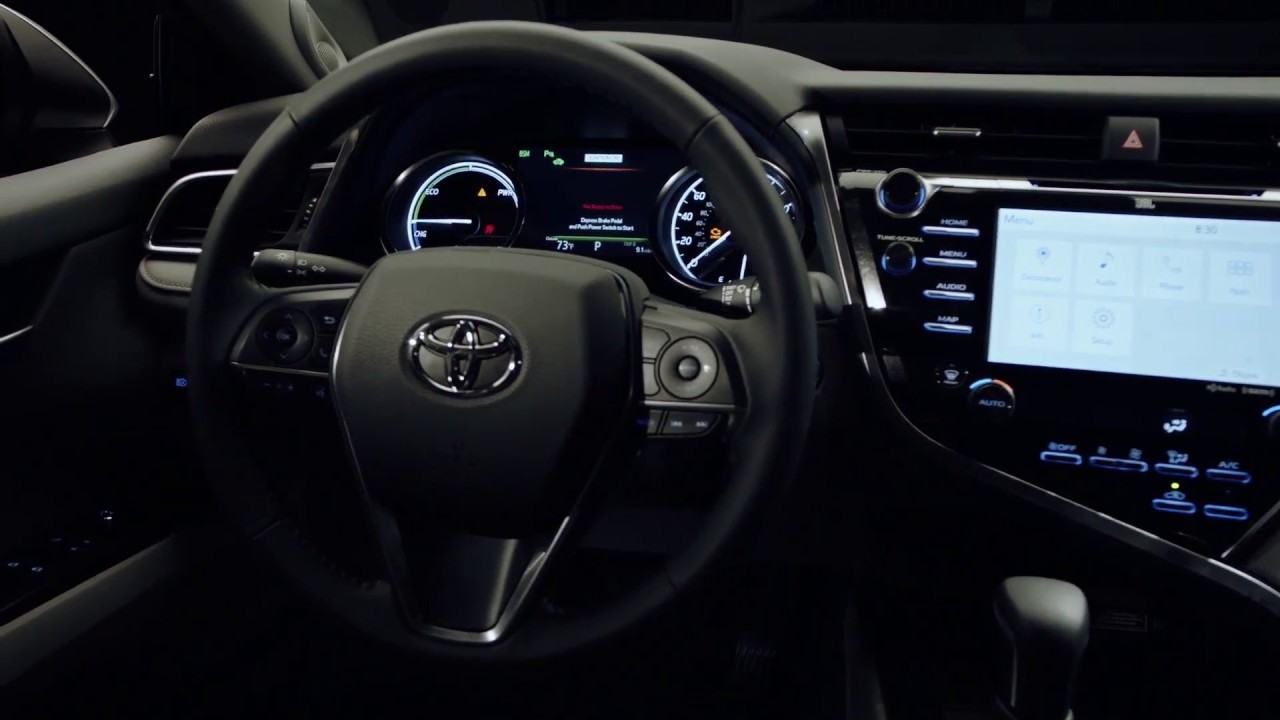 2018 toyota interior. fine 2018 2018 toyota camry xse  interior design trailer  automototv with toyota interior
