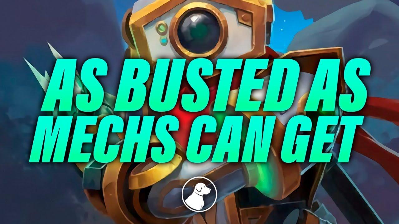 As Busted as Mechs Can Get | Dogdog Hearthstone Battlegrounds