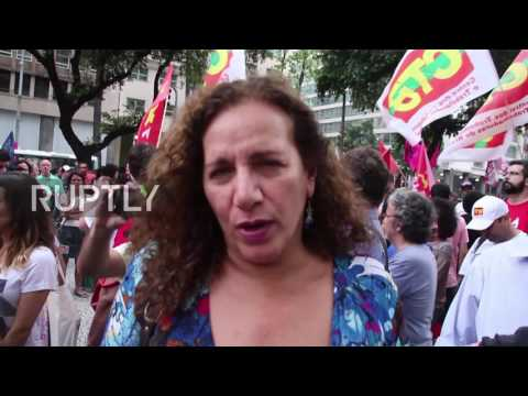 Brazil: Protests hit Rio de Janeiro as Temer embroiled in new corruption scandal
