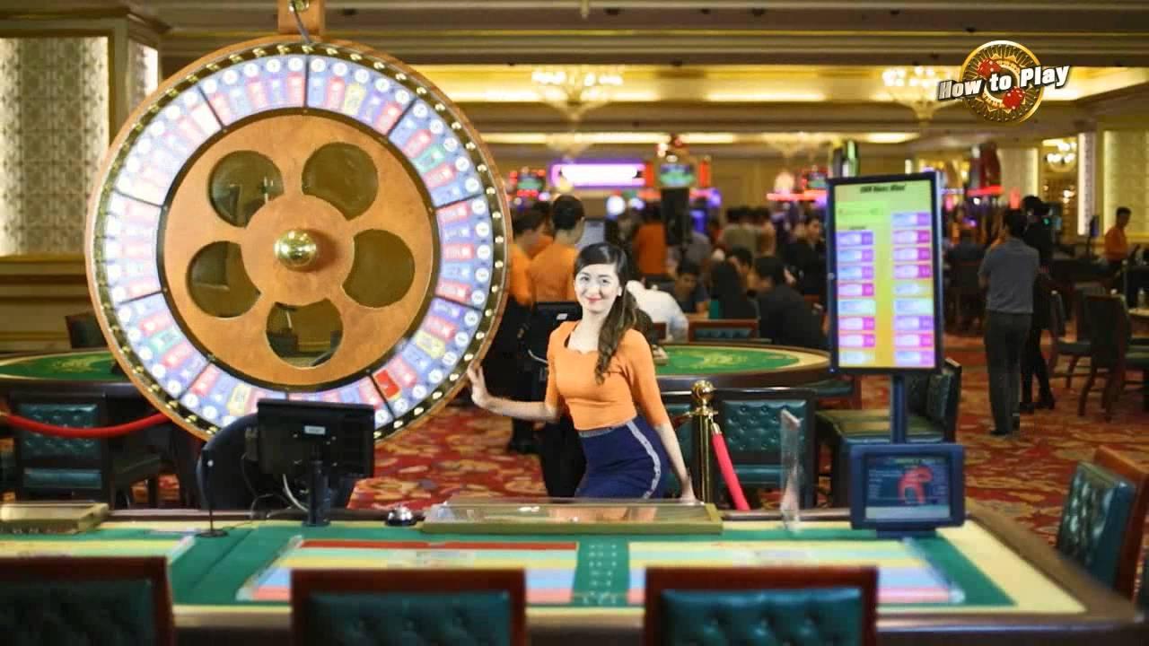 Money Wheel | Resorts World Manila