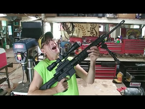 How To Turn Your AR15 into A 50cal BMG