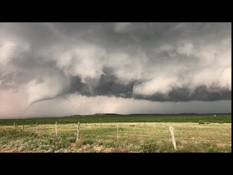Tornadic Supercell Time-Lapse Near Post, TX 05/23/2020