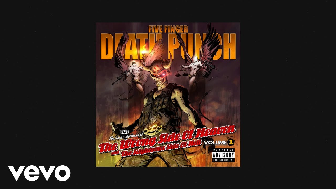 Five Finger Punch Wrong Side Of Heaven Official Audio