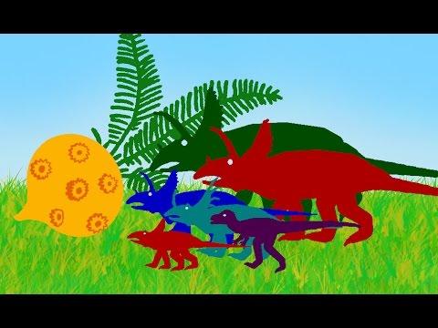 Мультик про динозавров