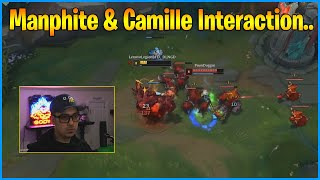 What is This Malphite & Camille Interaction?...LoL Daily Moments Ep 1232