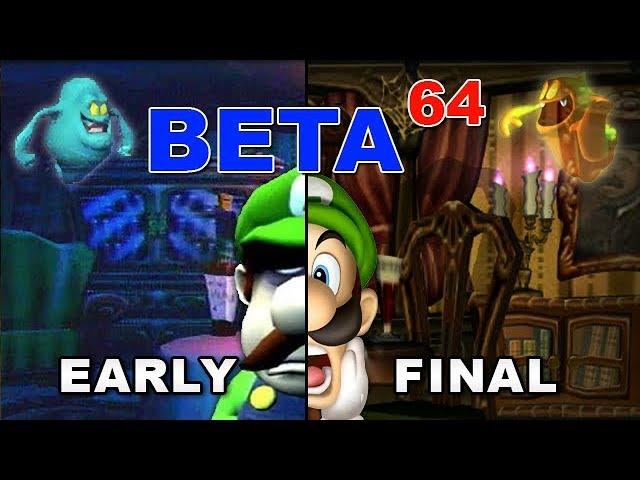 Beta64 - Luigi's Mansion [Revisited]