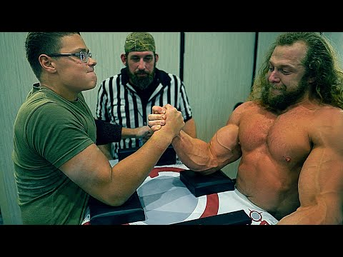 18 YEARS OLD ARM WRESTLING CHAMPION