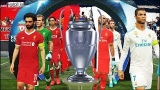 Uefa champions league final | real madrid vs liverpool | penalty shootout | pes 2018 gameplay pc