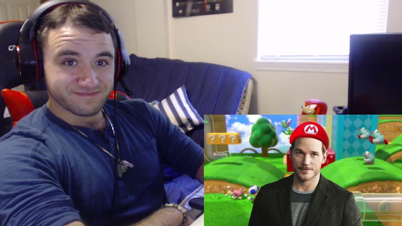 "RickWa Reacts to ""America Recasts the Mario Movie"" [By: videogamedunkey]"
