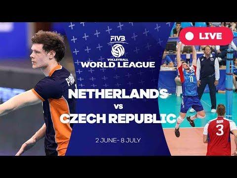 Netherlands v Czech Republic - Group 2: 2017 FIVB Volleyball World League