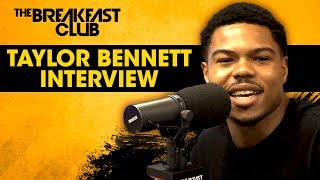 Taylor Bennett On New Album 'Be Yourself', Coming Out As Bisexual + More