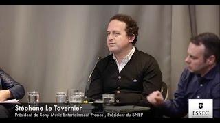 Rencontre avec Stéphane Le Tavernier (PDG de Sony Music France)