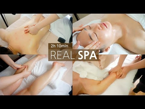 ASMR Relaxing SPA🌟 Full Body Massage Therapy, Facial Treatment