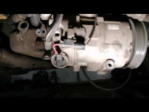 Снятие генератора с Mercedes A 160 с водяным охлаждением (Valeo)