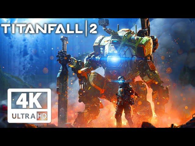 TITANFALL 2 All Cutscenes (Game Movie) 4K 60FPS UltraHD