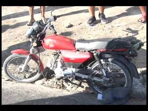 PEDREIRO MORRE EM ACIDENTE DE MOTO NA BR 104