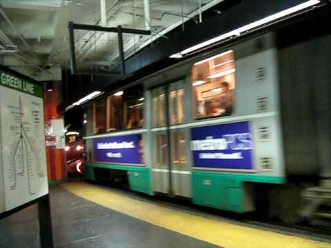MBTA: Westbound Green Line train leaves Government Center