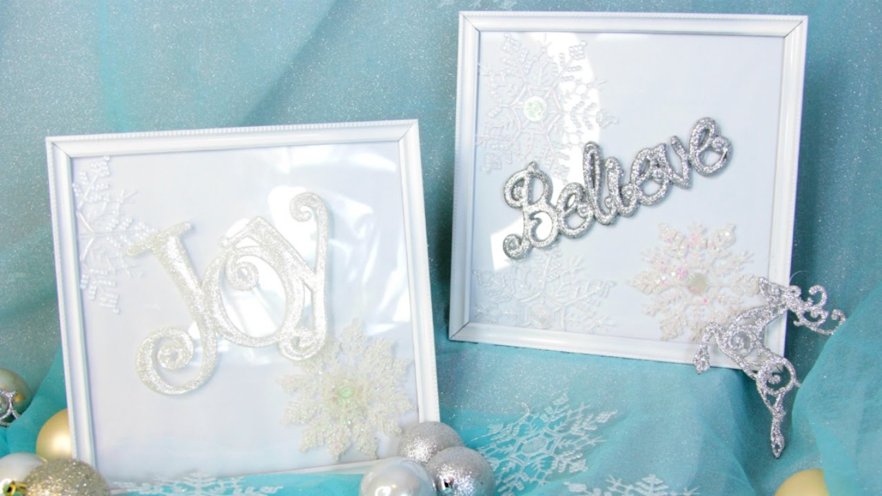 DOLLAR TREE PICTURE FRAMES D.I.Y TUTORIAL - YouTube