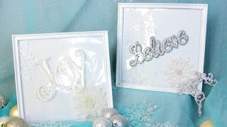 DOLLAR TREE PICTURE FRAMES D.I.Y TUTORIAL Video