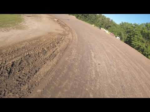 Albany /Saratoga Speedway -hot laps  w race quad