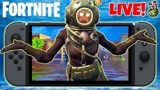 Pro Nintendo Switch Player! // FORTNITE UNDER WATER? // (Fortnite Battle Royale LIVE)