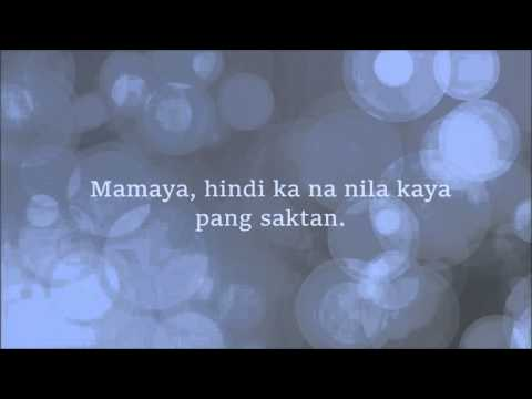 Tulog na,mahal ko by TJ MONTERDE Lyric Video