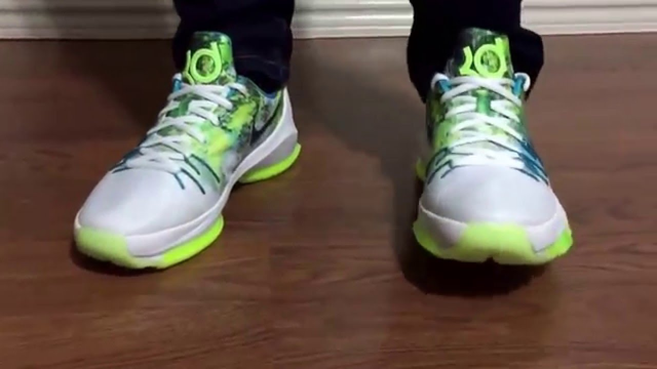 separation shoes d2a8a 16c71 Wife s Nike KD8 N7 unbox and on feet review