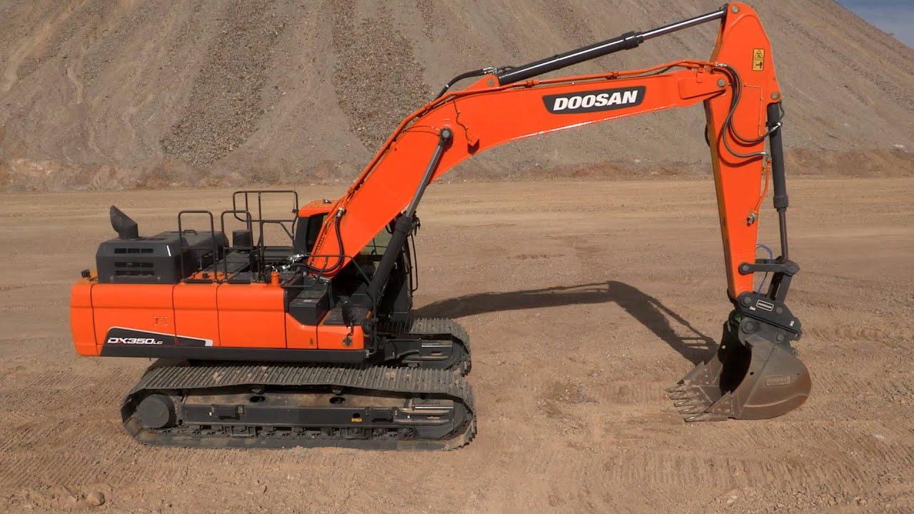 Doosan Crawler Excavator Walkaround