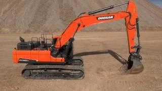 Video still for Doosan Crawler Excavator Walkaround