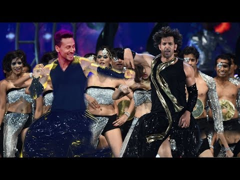 Tiger Shroff and Hrithik Roshan Crazy Dance Performance at War Movie Promotion | Mind Blowing Step Mp3