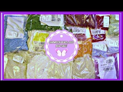 Shipwreck Beads, Seed Bead Sale, Super Cheap!