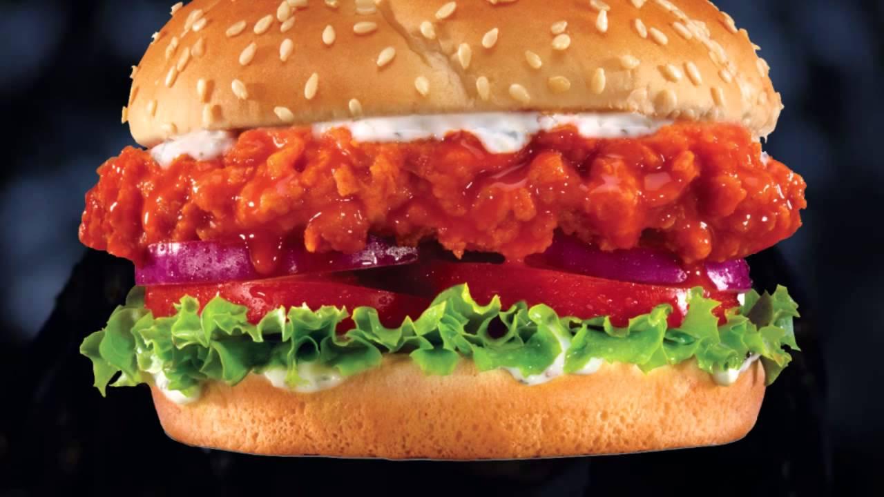 Buffalo Chicken Sandwich Fast Food