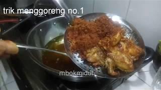Anti Gagal! Ayam Goreng Lengkoas Partai 11 Ekor!