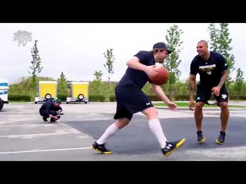 Phil Kessel plays Basketball with Ryan Reaves