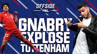 Gnabry a explosé Tottenham - OFFSIDE