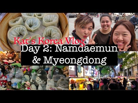 🇰🇷Korea Vlog: Namdaemun & Myeongdong | Shopping for Korean Skincare & Makeup 💄💸