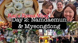 🇰🇷Korea Vlog: Namdaemun & Myeongdong | Shopping for Korean Skincare & Makeup 💄💸