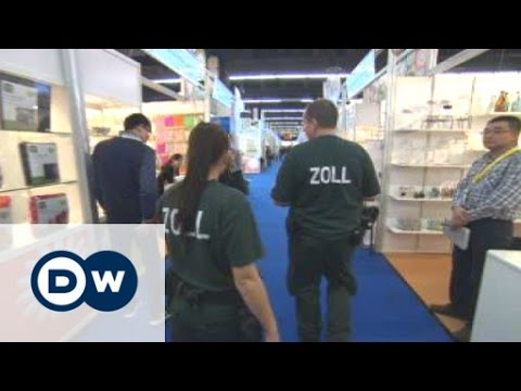 German customs officers crack down on product piracy   Business