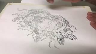 Drawing Medusa