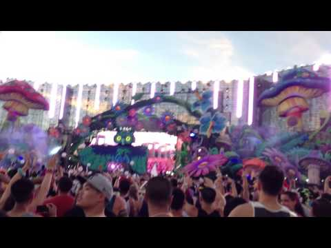 Dash Berlin EDC 2013 Las Vegas drops California Love at Sunrise