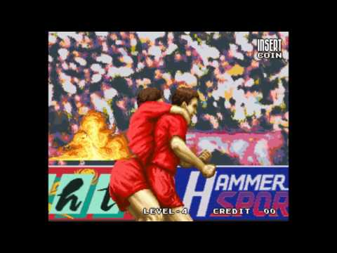 Tecmo World Soccer '96 Gameplay & Ending