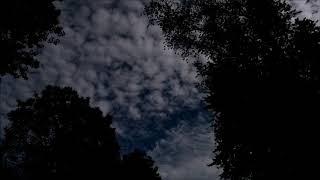 Altocumulus Clouds Timelapse