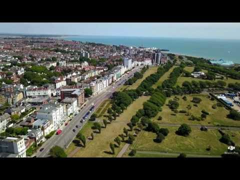 Southsea; United Kingdom from the air - dji Mavic PRO