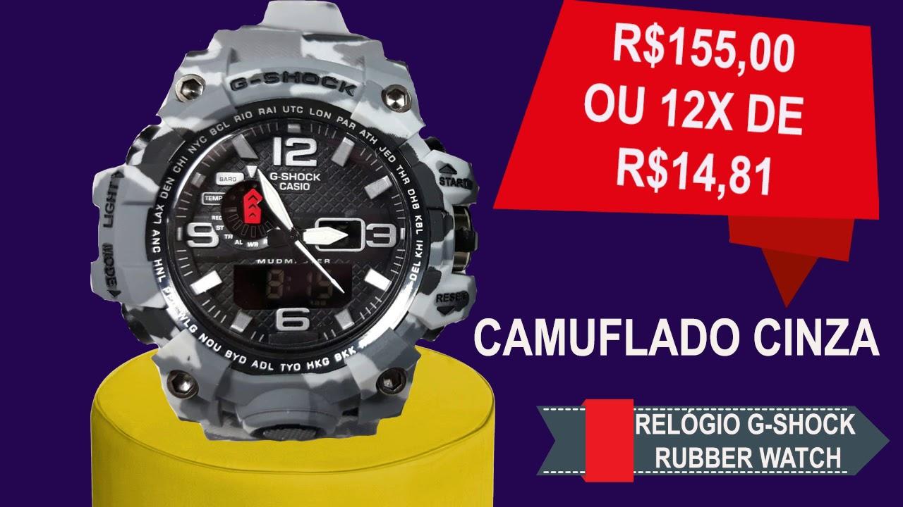 32584bc2b1c Relogios Masculinos G-shock vendas no Mercado Livre na loja ID Fashion