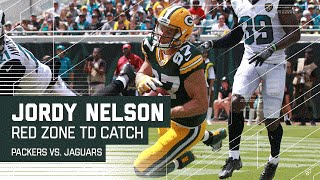 Eddie Lacy's Catch & Run Sets Up Nice Jordy Nelson TD! | Packers vs. Jaguars | NFL